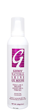 Gefden_Natural_Shine_Mousse_8oz_FRONT