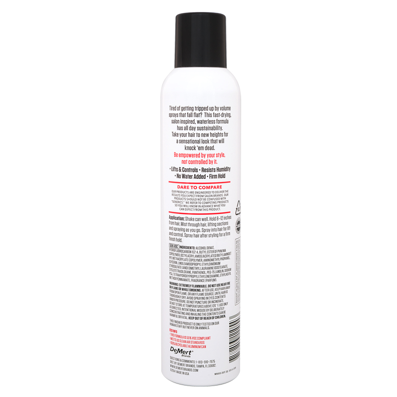Volume Boost Finishing Spray